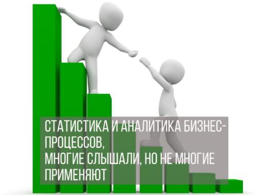Статистика и аналитика бизнес-процессов